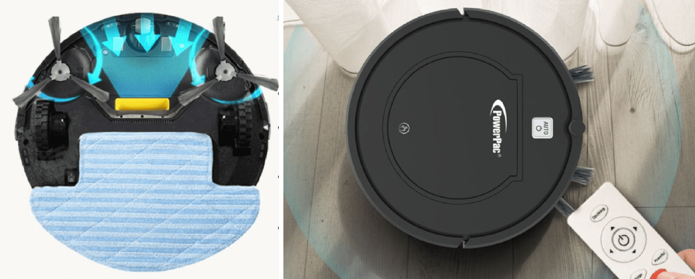 PowerPac Smart Robotic Vacuum Cleaners in Singapore