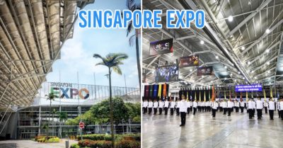 Singapore Expo cover