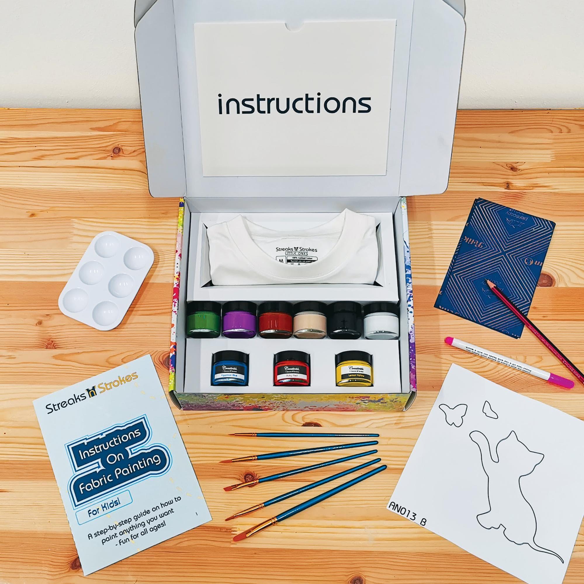 Streaks n Strokes Home Painting Kit