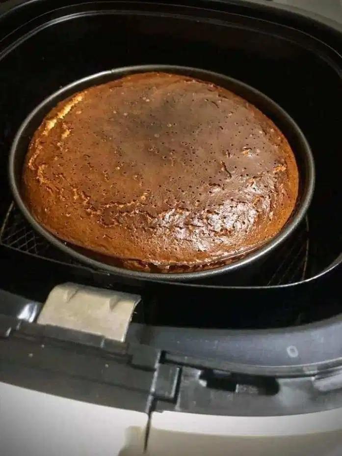 air fryer burnt cheesecake