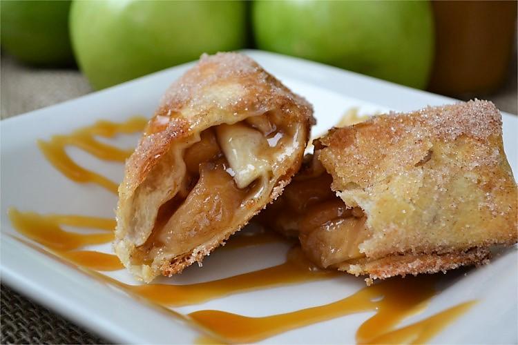 air fryer recipe - apple pie
