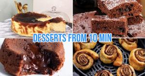 air fryer dessert recipes