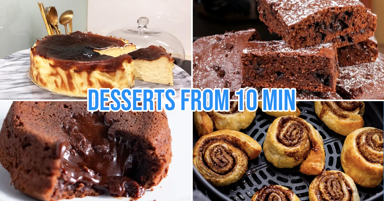 13 Easy Air Fryer Dessert Recipes For Cafe Level Egg Tarts Churros