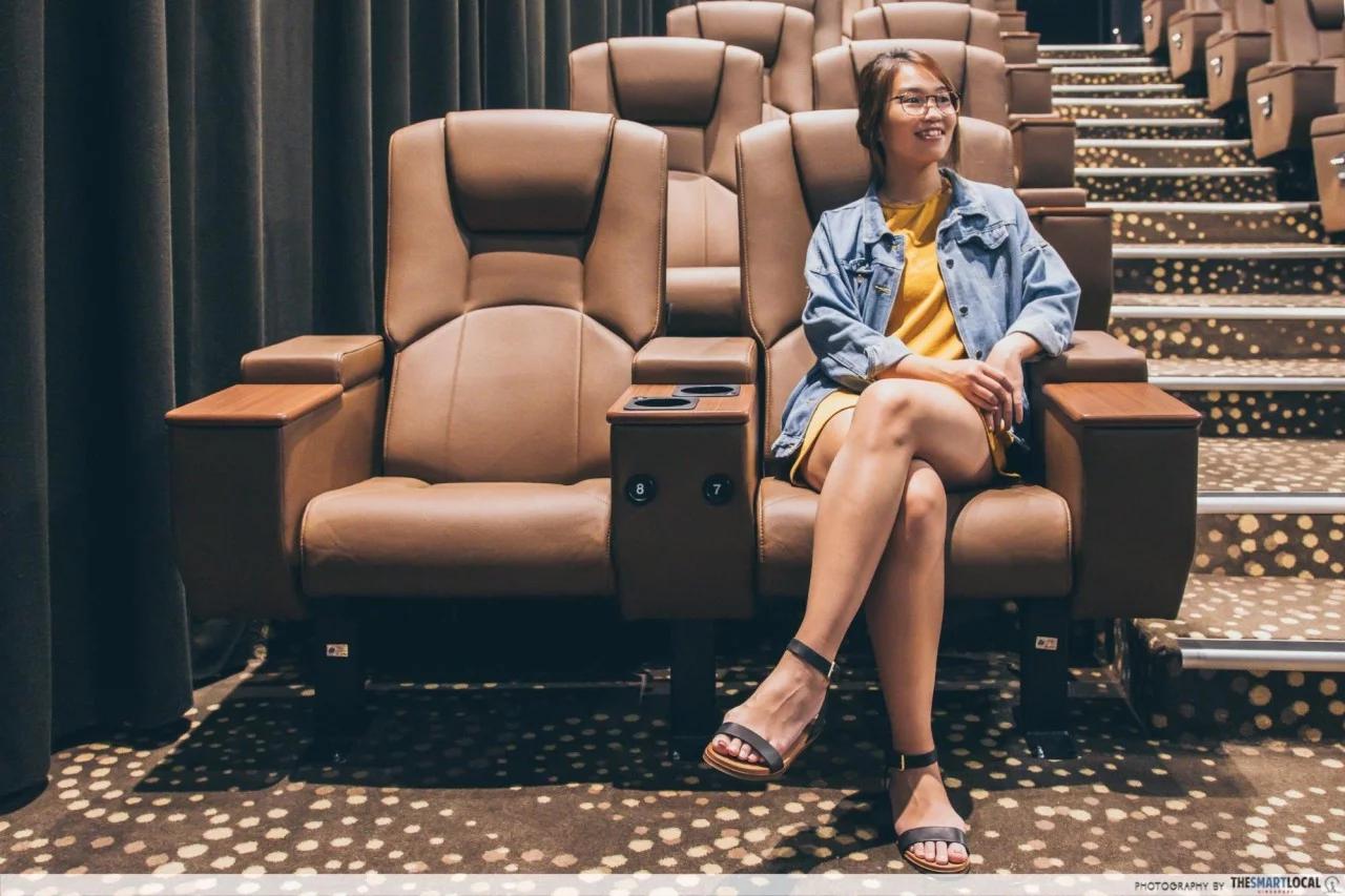Golden Village deluxe seats