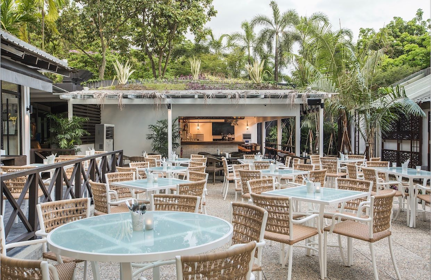 Located in Bishan-AMK park is Canopy Garden Dining.