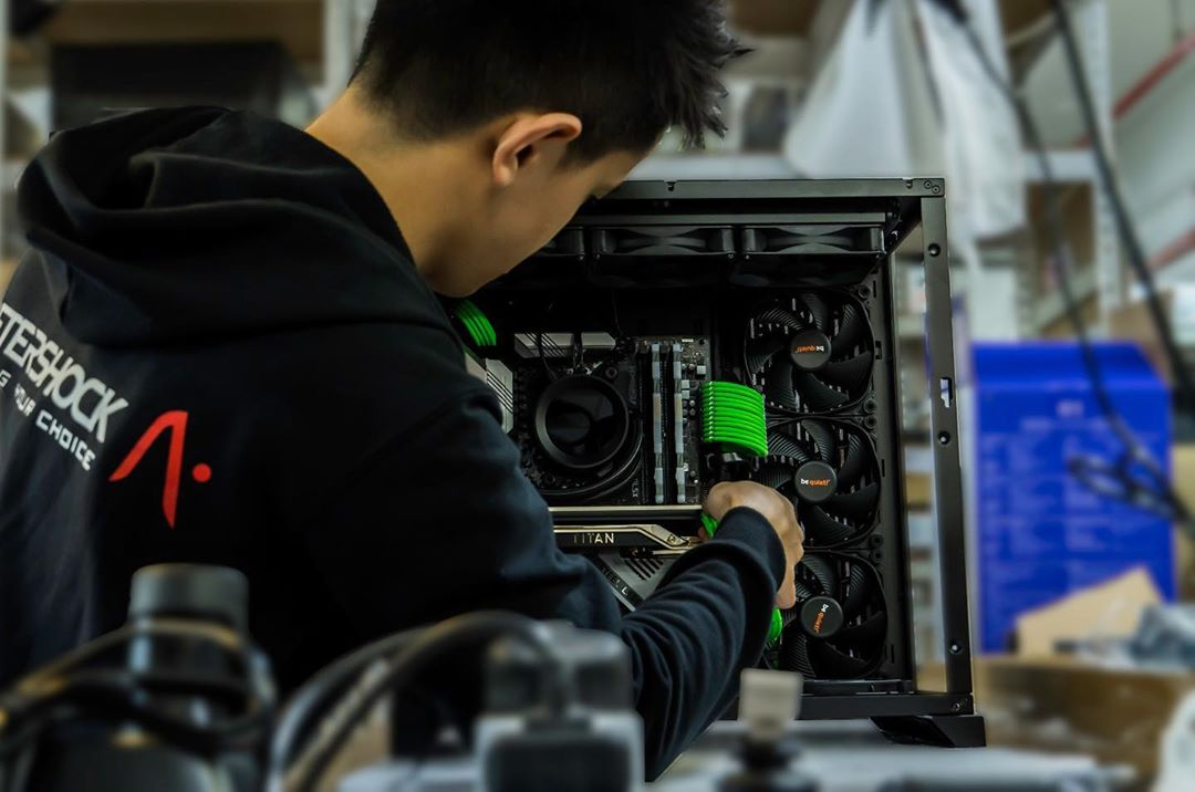 One of the best ways to build a custom pc is through a boutique builder.