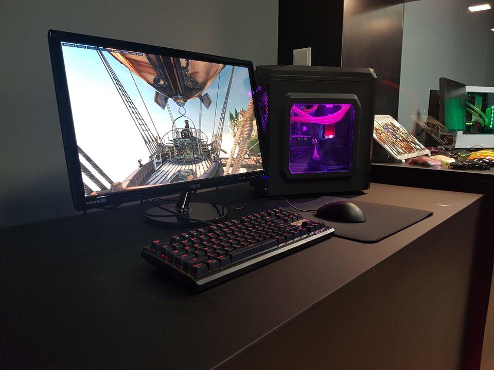 Custom-built Aftershock PC