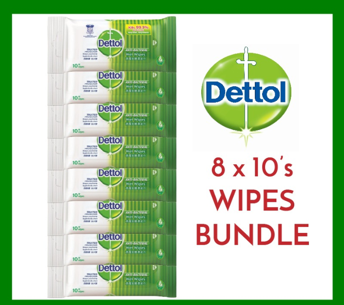 coronavirus school supplies - dettol wipes set