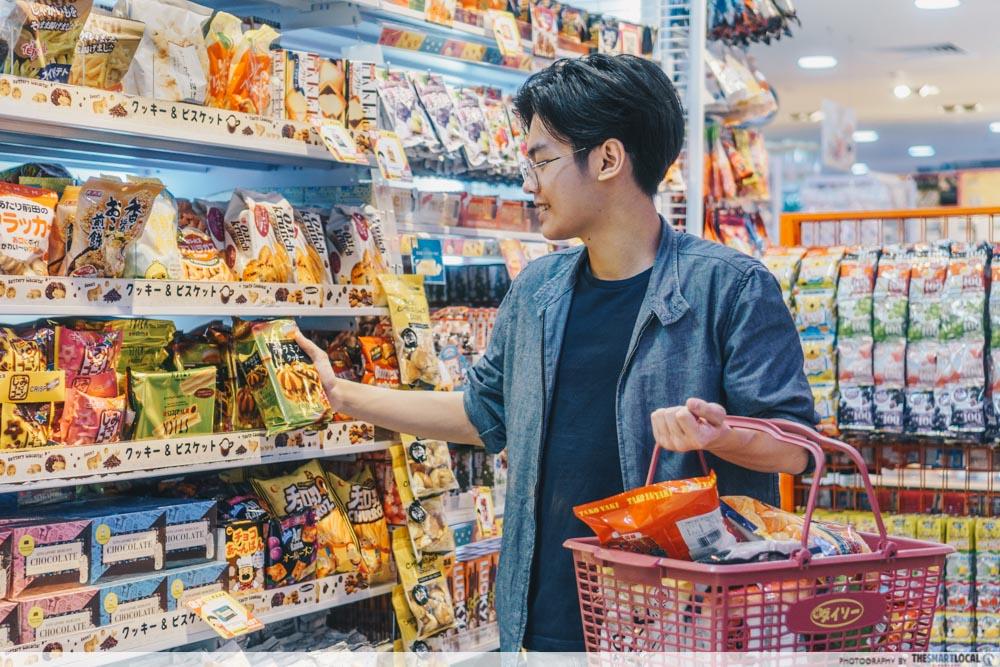daiso snacks singapore