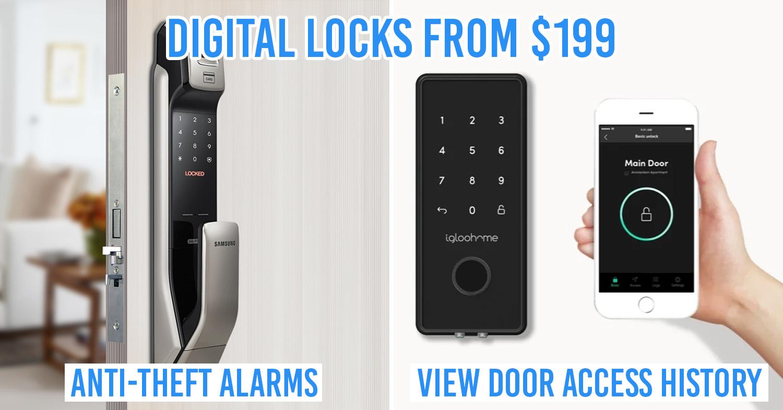 Digital locks in Singapore
