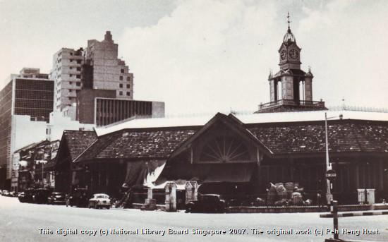 telok ayer market singapore
