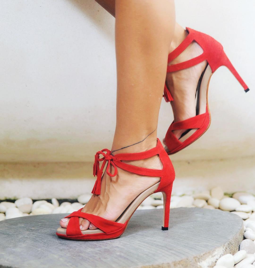 emblem sandya red stilettos