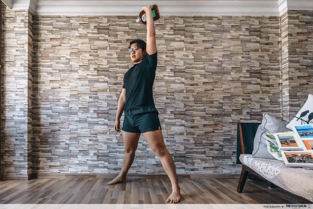 fitness challenges - home