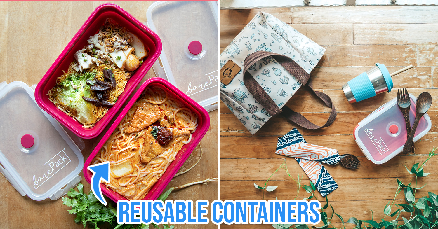 foodpanda reusable container