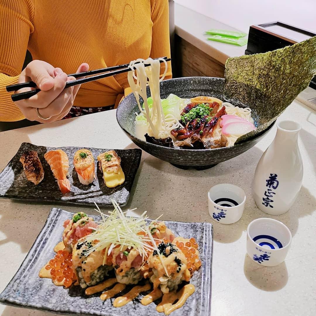 ramen at Sakae Sushi