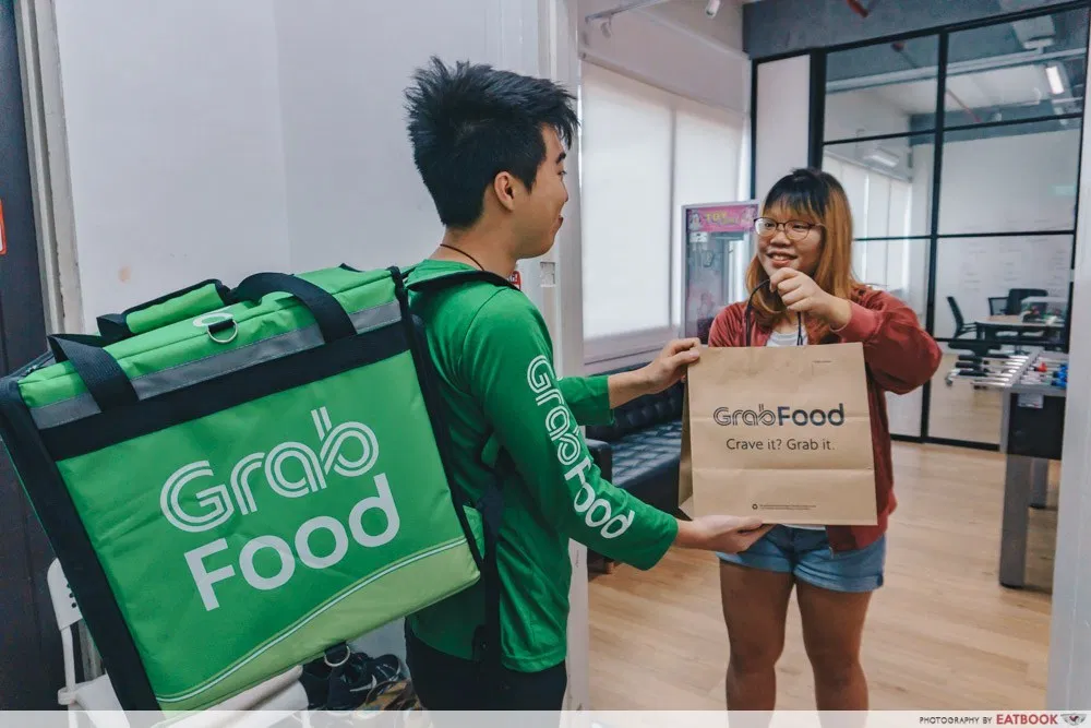grab delivery