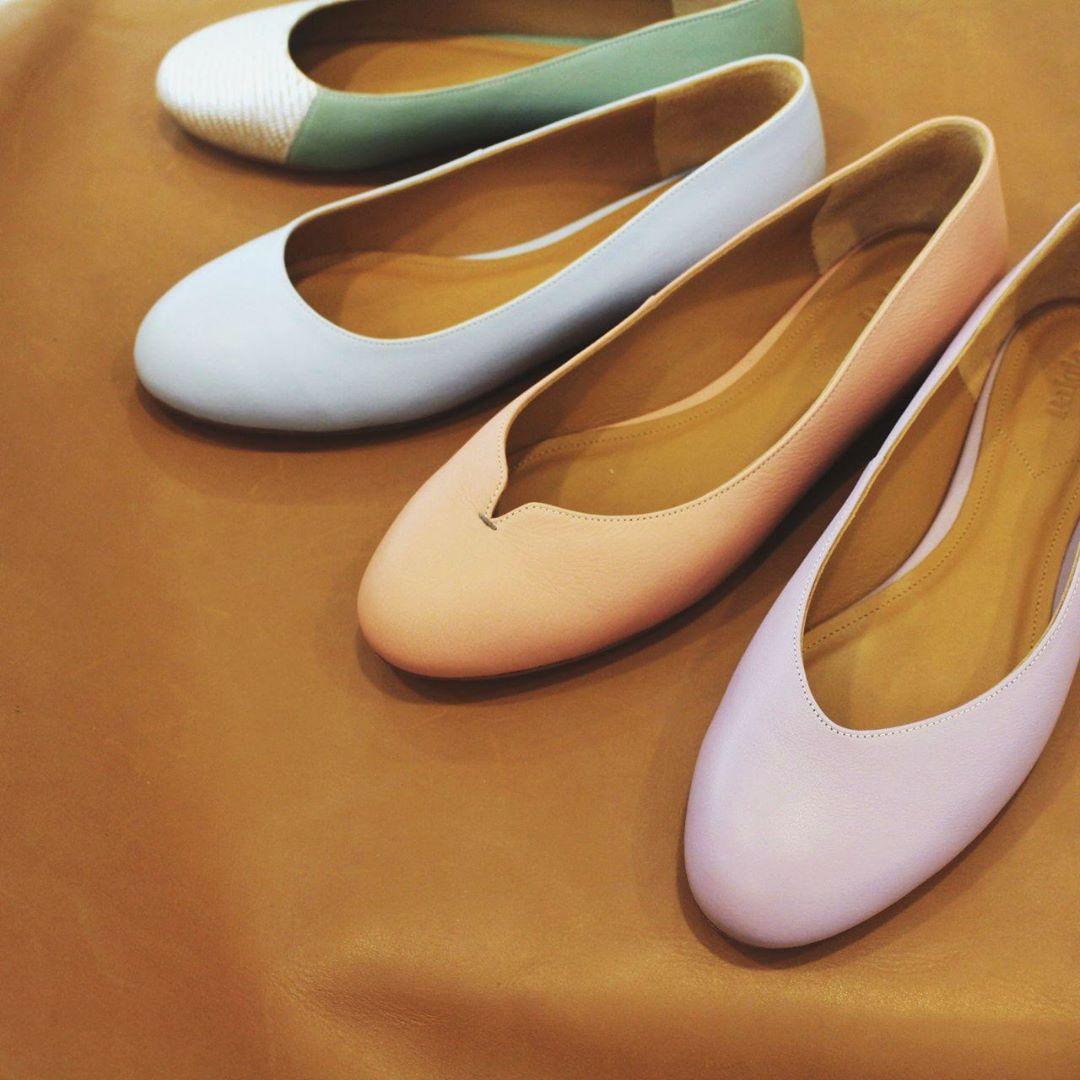 Women's leather shoes in singapore: palola yumi flats