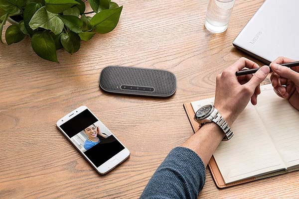 The Lenovo 700 Ultraportable speaker is the slimmest in the world, and is the best portable Bluetooth speaker for those who travel often.