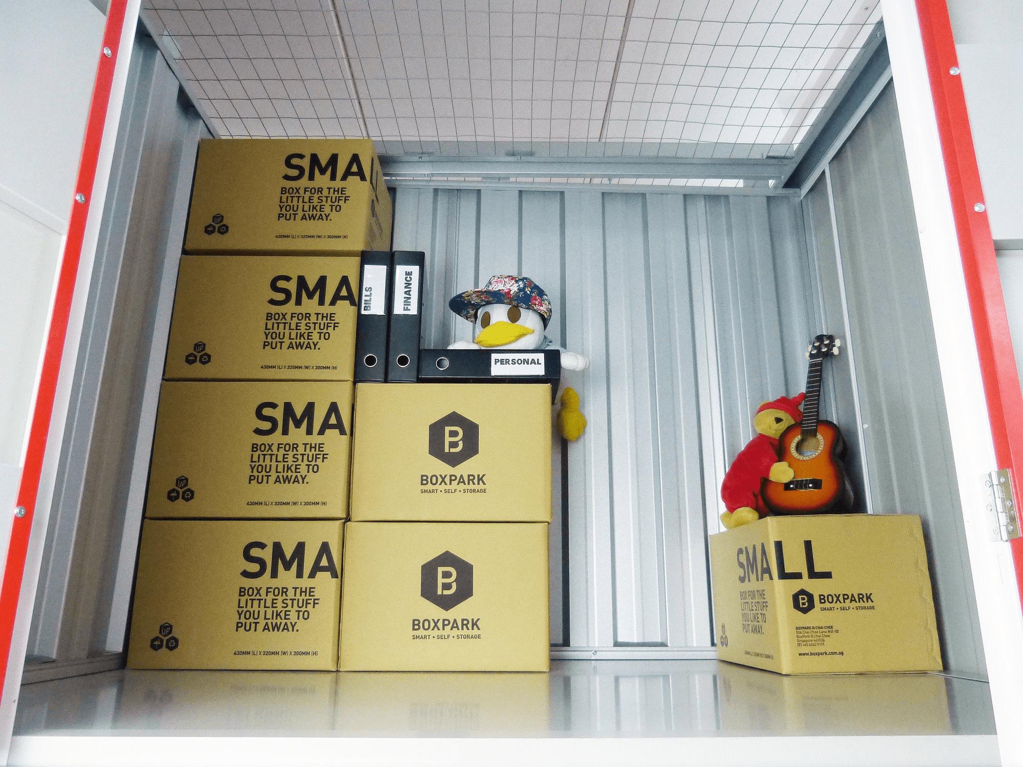 Storage spaces - Boxpark