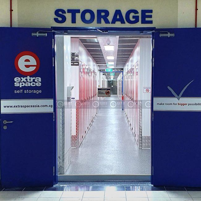 Storage spaces - Extra Space Asia