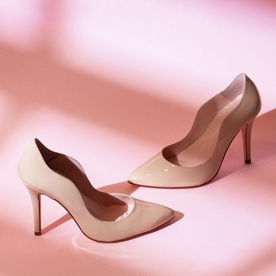 Women's leather shoes in singapore: the oleah classic pumps
