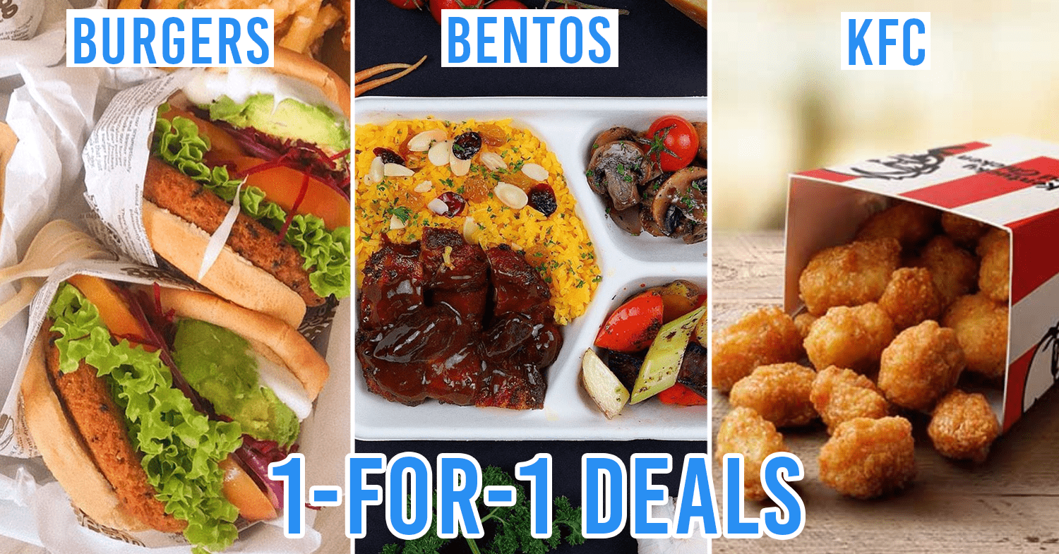 1-for-1 takeaway and delivery deals