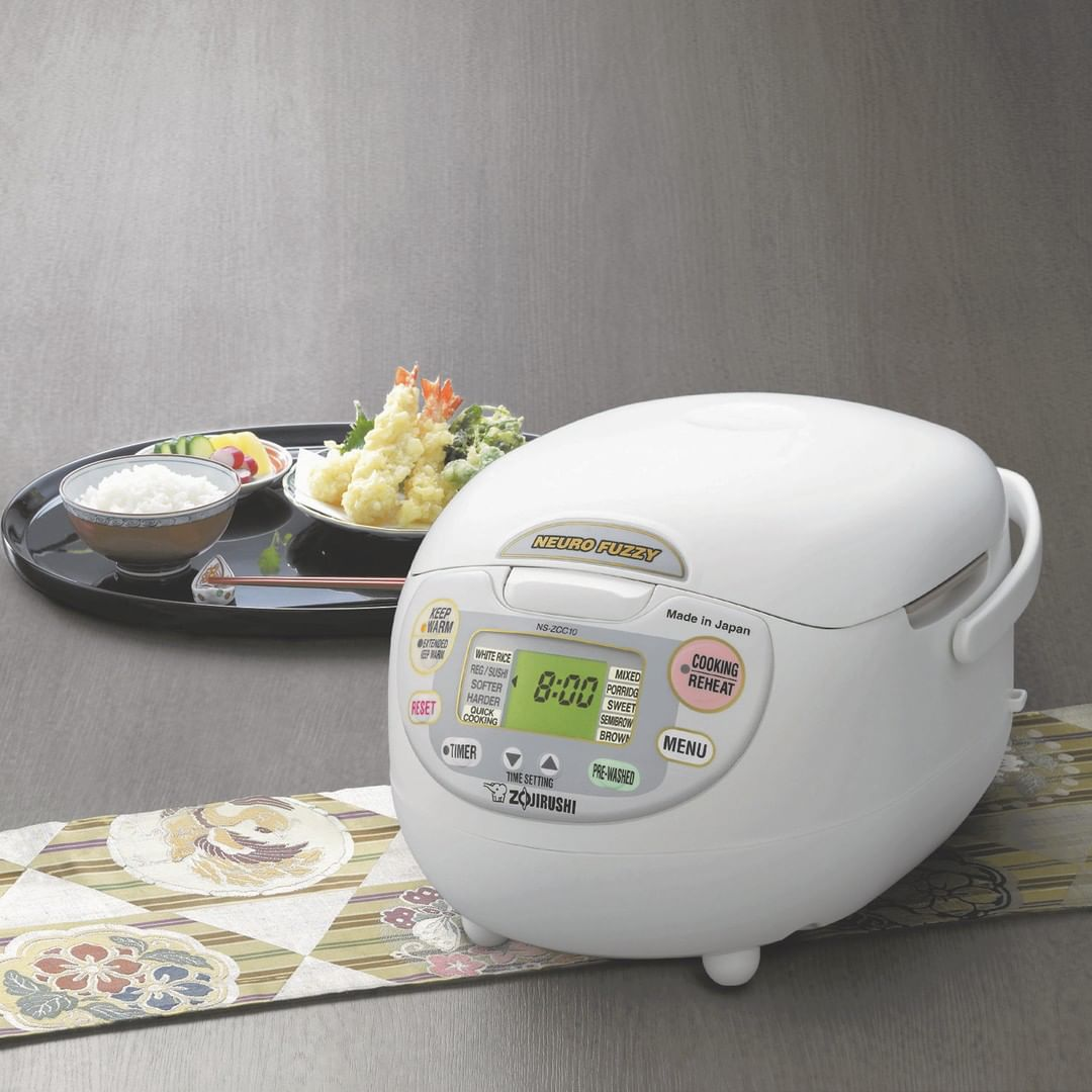 Zojirushi Neuro Fuzzy rice cooker - best rice cookers