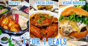 1 For 1 Food Deals Singapore