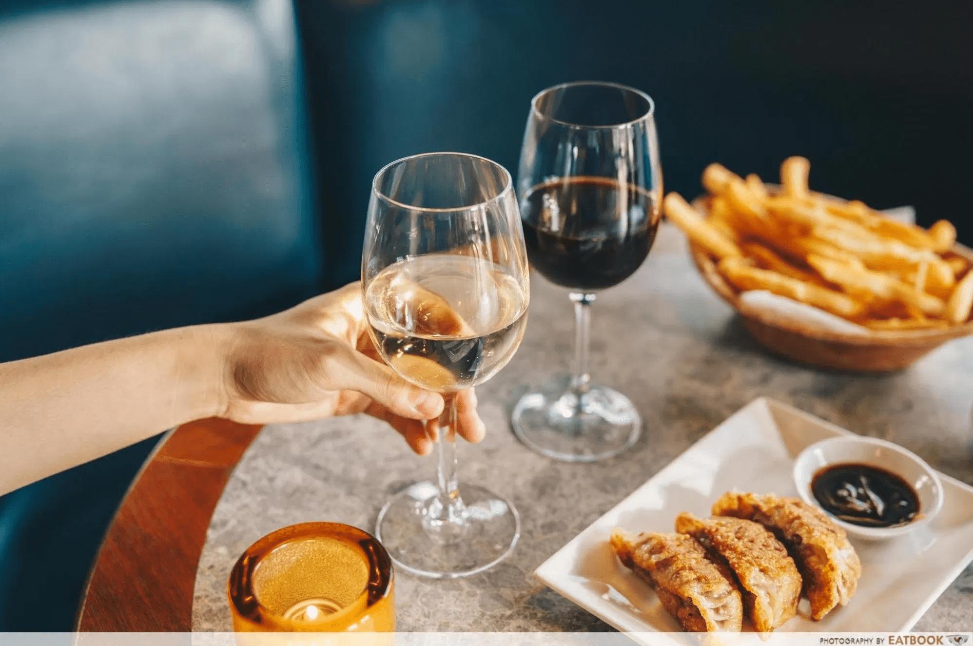 1-for-1 deals - clarke quay - prive - wine