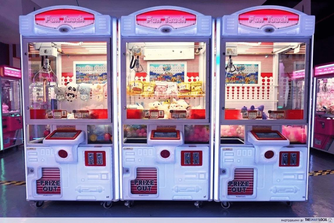 Arcade in singapore