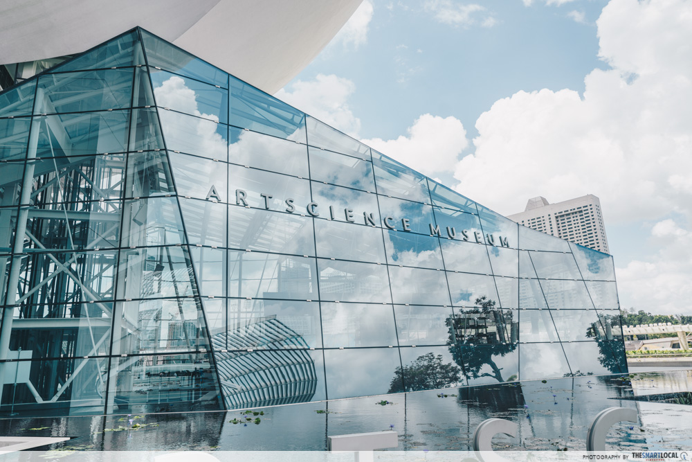 ArtScience Museum Singapore - Marina Bay Sands