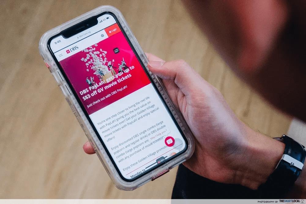 DBS PayLah App Perks