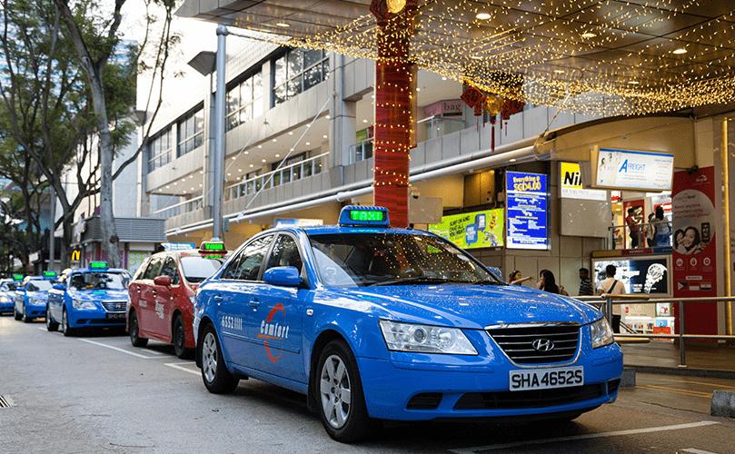 DBS PayLah ComfortDelGro Taxi