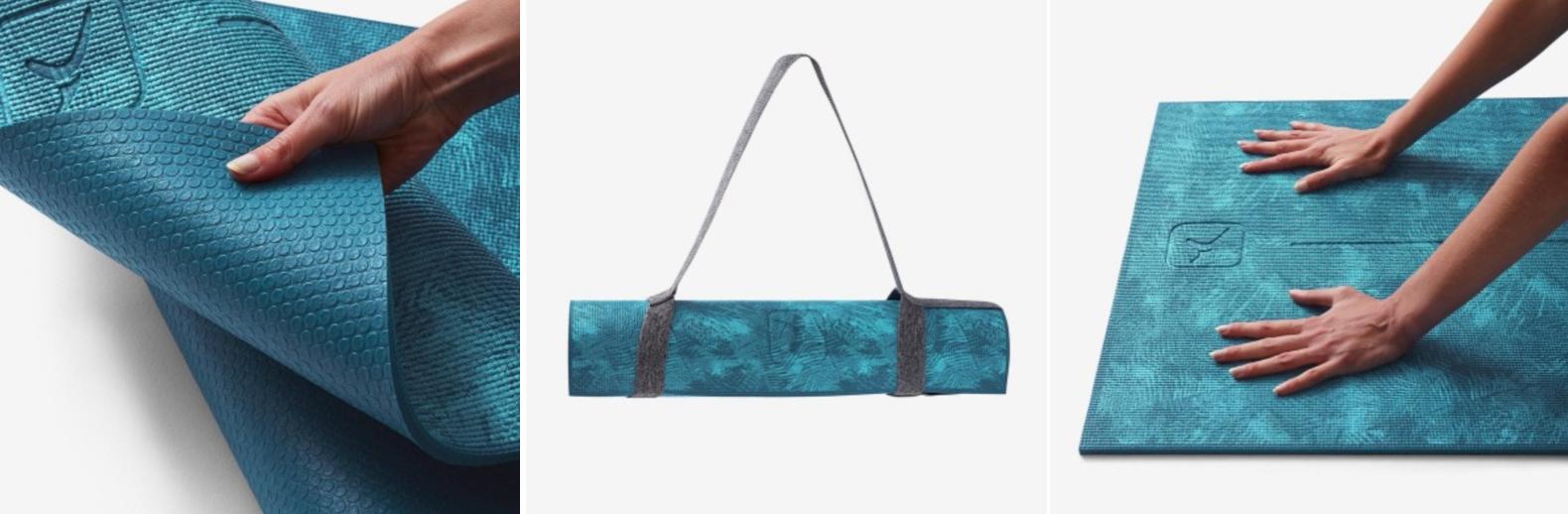 Win decathlon vouchers to buy Comfort Yoga Mat in blue