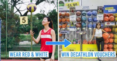 Win decathlon vouchers at GetActive! Singapore Contest