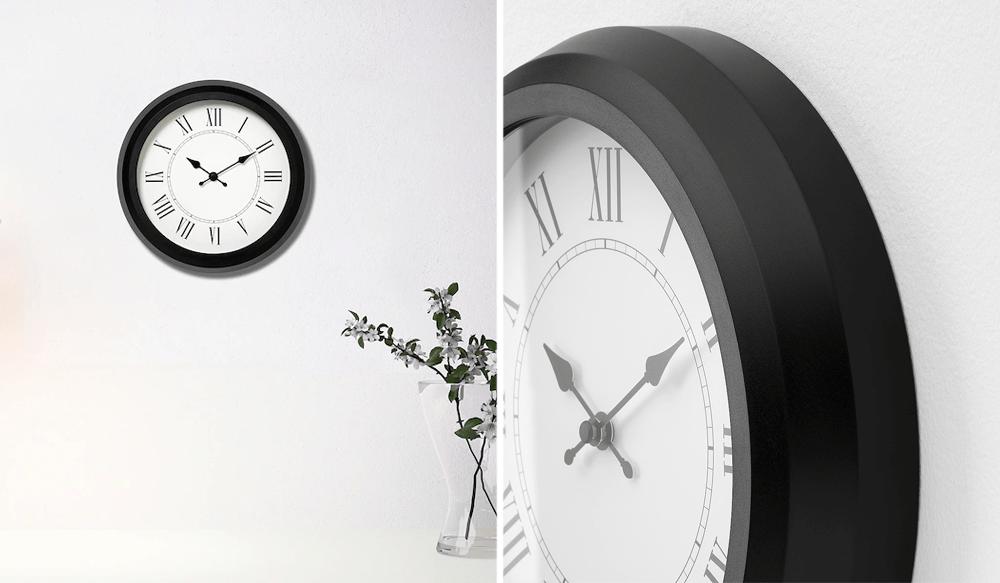 Modern Wall Clocks - IKEA Nuffra Vintage Design