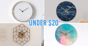 Modern Wall Clocks Singapore Affordable