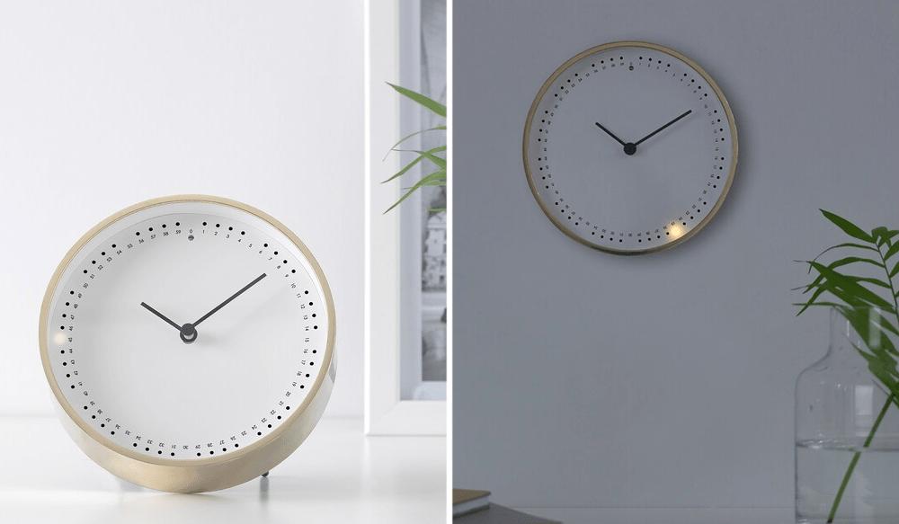Modern Wall Clocks - IKEA Light-Up UV Sensor