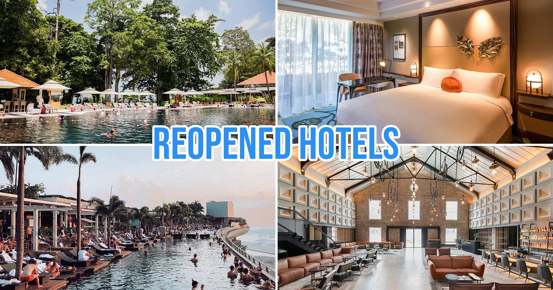 Reopened hotels singapore phase 2