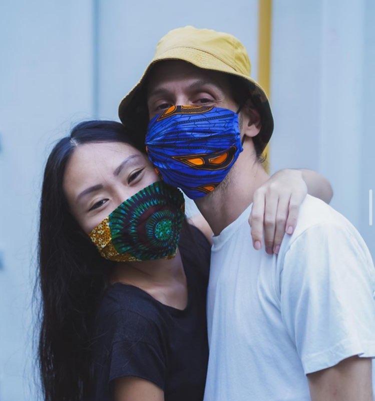 Olive ankara reusable masks