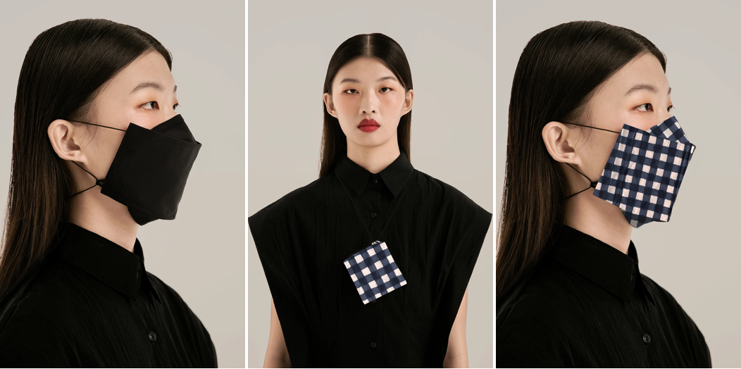 SABRINAGOH origami face mask collage