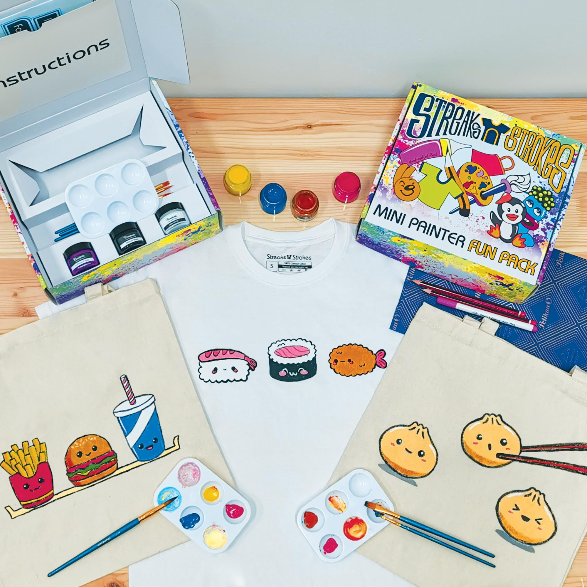 Stay Home Activity Kits - DIY Painting