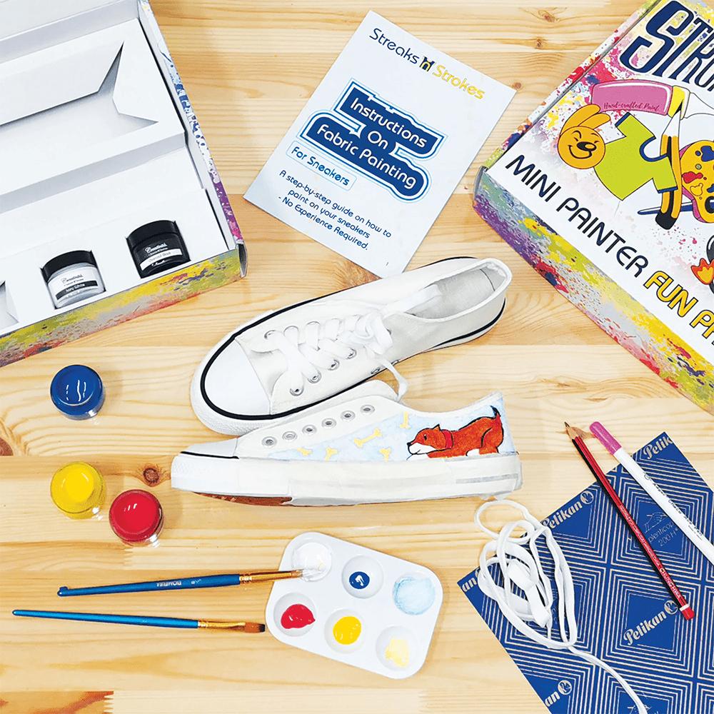 Streaks n Strokes DIY Painting Kit - Sneaker