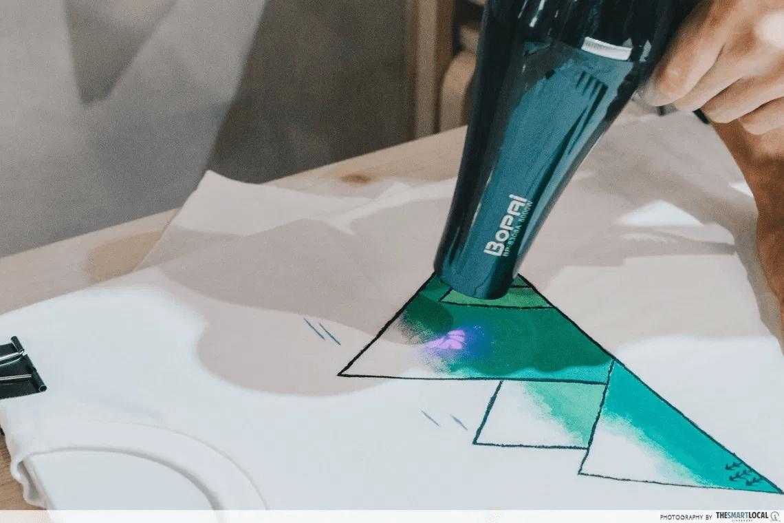 Streaks n Strokes DIY Painting Kit - Blowdry Hairdryer