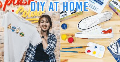 Streaks n Strokes DIY Painting Kit - Singapore