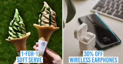 Suntec City flash sale - 08 Matcha Saro and Xiaomi