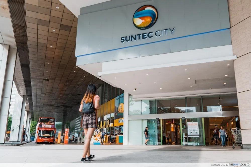 Suntec City flash sale - Suntec City