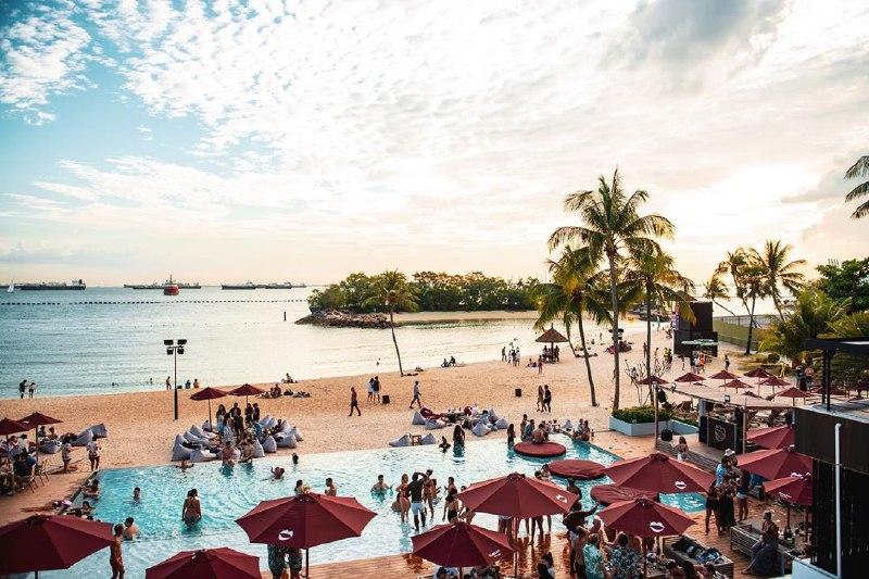 best-beaches-in-singapore - rumours beach club