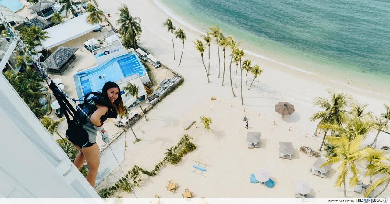best-beaches-in-singapore - aj hackett
