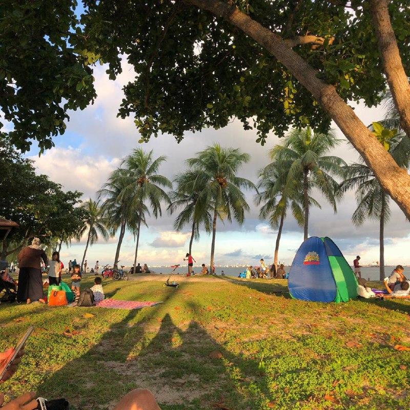 best-beaches-in-singapore - east coast park